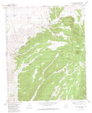 Tularosa Mountains USGS topographic map 33108e1