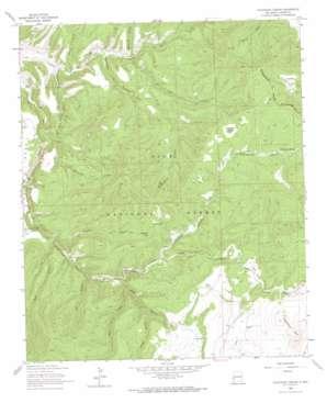Telephone Canyon topo map