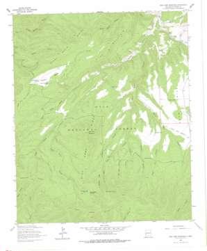 Sign Camp Mountain topo map