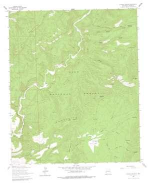 O Block Canyon USGS topographic map 33108e7