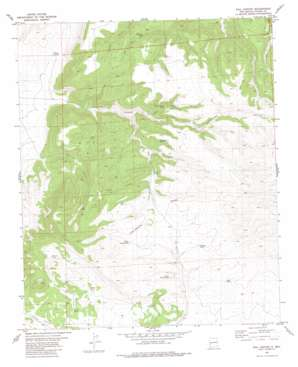 Rail Canyon USGS topographic map 33108f2