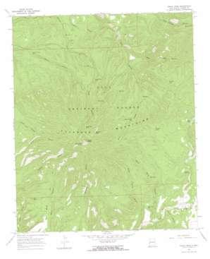 Eagle Peak USGS topographic map 33108f5
