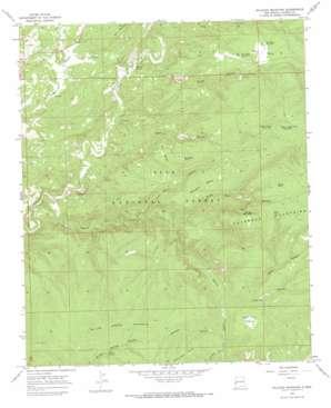 Milligan Mountain USGS topographic map 33108f6