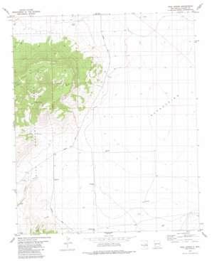 Rael Spring topo map