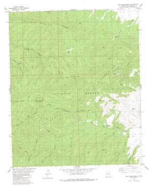 John Kerr Peak USGS topographic map 33108g4
