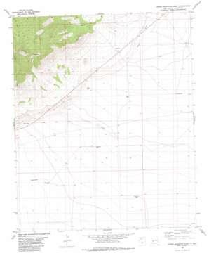Horse Mountain East topo map