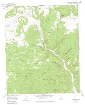 Queens Head topo map