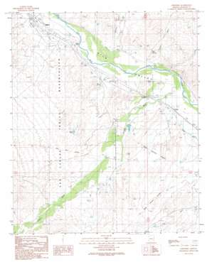 Geronimo topo map