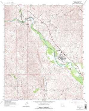 Kearny topo map