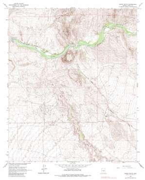 North Butte topo map