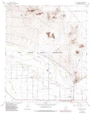 Blackwater topo map