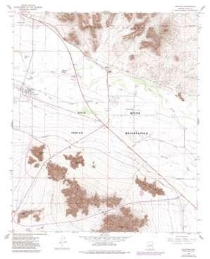 Sacaton topo map