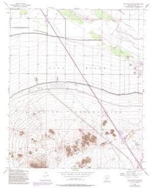 Gila Butte Se topo map