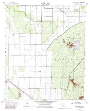 Sacaton Butte topo map
