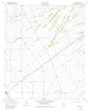 Magma topo map