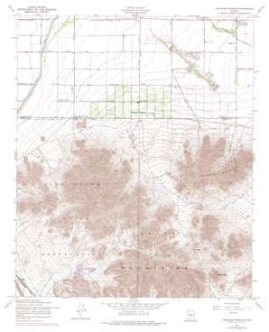 Chandler Heights topo map