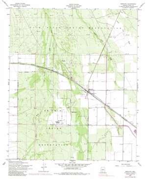 Maricopa topo map