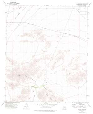 Margies Peak topo map