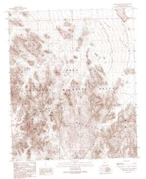 Slumgullion Pass topo map