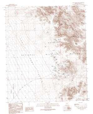 Castle Dome Peak topo map