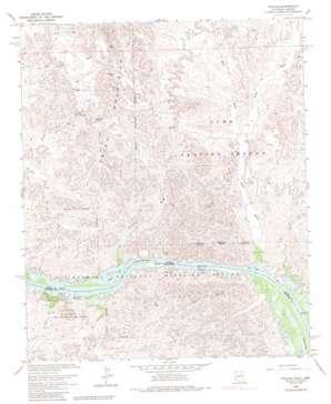 Picacho topo map