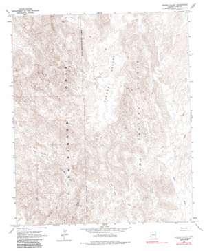 Hidden Valley topo map