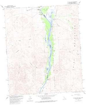 Picacho Nw topo map