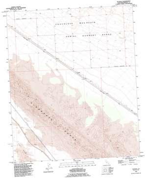 Acolita topo map