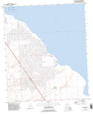 Truckhaven topo map