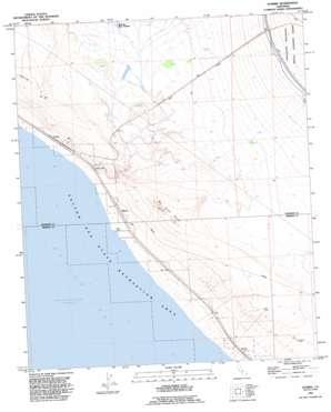Durmid topo map
