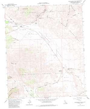 Earthquake Valley topo map