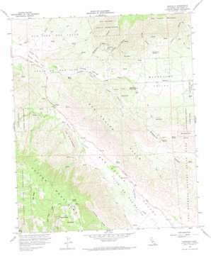 Ranchita topo map