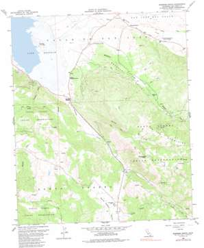 Warners Ranch topo map