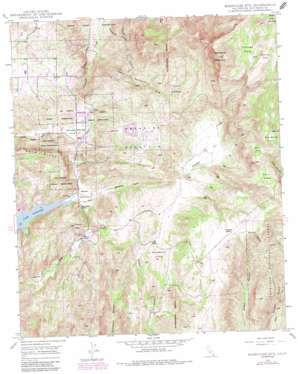 Rodriguez Mountain topo map