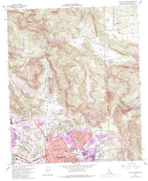 Valley Center topo map