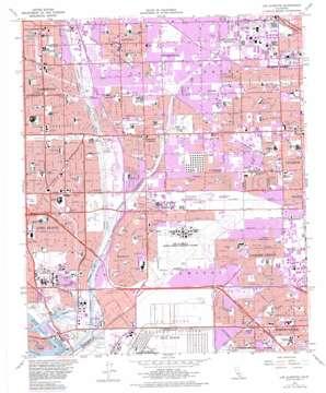 Los Alamitos topo map