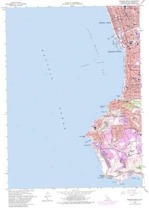 Redondo Beach topo map