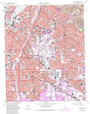 Whittier topo map