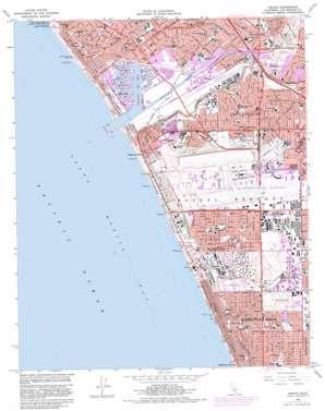 Venice topo map