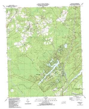 Funston topo map