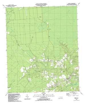 Supply topo map