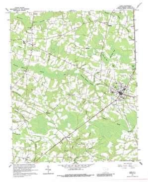 Loris topo map