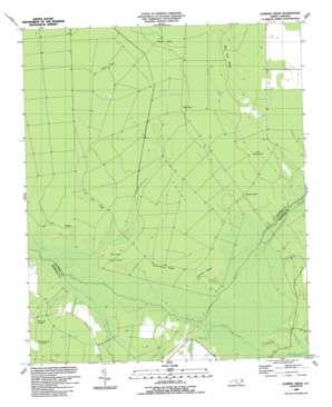 Juniper Creek topo map