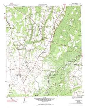Centenary topo map