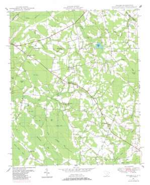 Duford topo map
