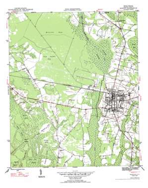 Marion topo map