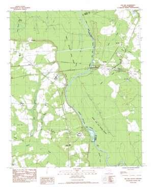 Pee Dee topo map