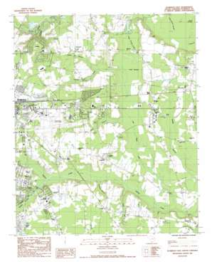 Florence East topo map