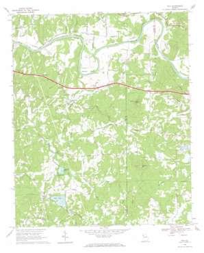 Wax topo map