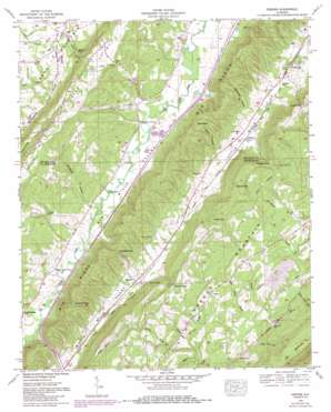 Keener topo map